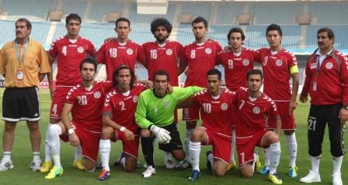 تیم ملی فوتبال افغانستان روانه رقابت های نهای جنوب آسیا شد