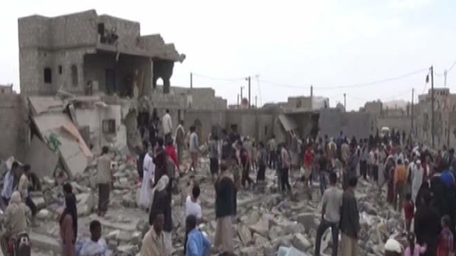 ده غیرنظامی در نتیجه حملات هوایی عربستان بر یمن کشته شدند