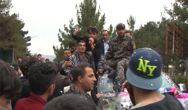 باشندگان کابل از عبدالعظیم بدخشی ورزشکار کشور استقبال کردند