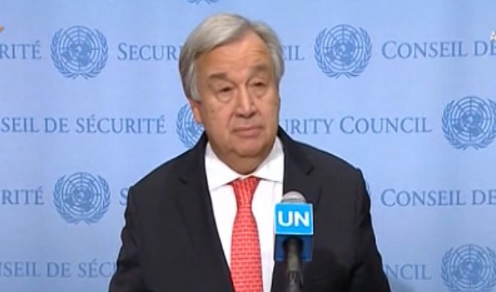 نگرانی دبیرکل سازمان ملل از احتمال ازسرگیری آزمایش های موشکی کوریای شمالی
