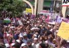اعتراض هزاران تن در بنگلادش به خشونت علیه مسلمانان در هند