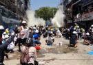 ادامه اعتراضات مرگبار در میانمار