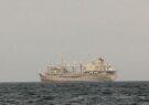 غرقشدن یک کشتی بزرگ نیروی دریایی ایران در بندر جاسک