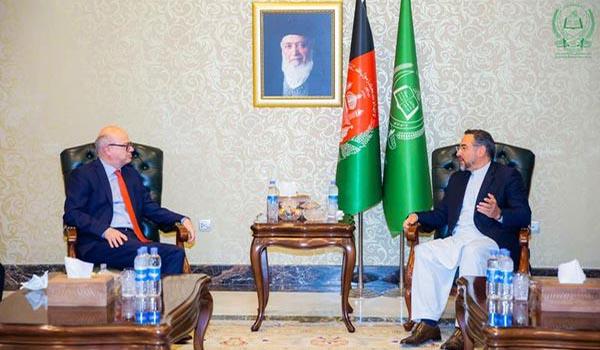 دیدار رییس جمعیت اسلامی با سفیر ترکیه در کابل
