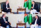 دیدار رییس جمعیت اسلامی با سفیر فرانسه وکانادا در کابل