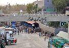مرز تورخم به دلیل همهگیری ویروس کرونا به روی ترافیک بسته شد