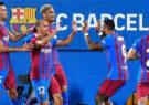 تیم فوتبال بارسلونا در بازی دوستانهاش مقابل یوونتوس به برد شیرینی دست یافت