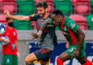 شکست تیم فوتبال مارتیمو مقابل براگا در لیگ برتر پرتغال
