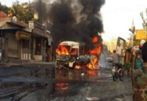 درپی انفجار در دمشق پایتخت سوریه ۱۳ تن کشته شدند