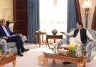 دیدار نخستوزیر پاکستان با نمایندهی ویژهی امریکا در امور اقلیم در مورد افغانستان