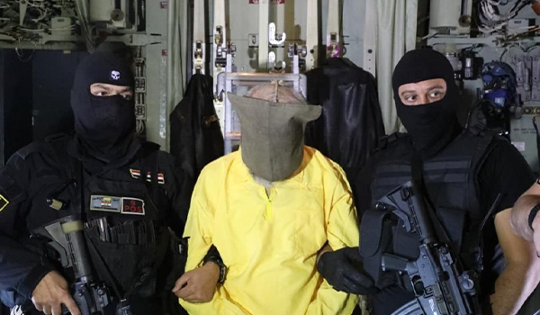 بازداشت مسوول مالی گروه داعش ومعاون ابوبکربغدادی