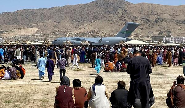 لغو پروازهای تخلیه از افغانستان توسط امریکا